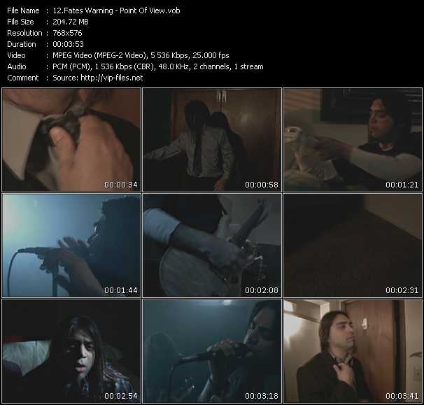 Fates Warning video screenshot