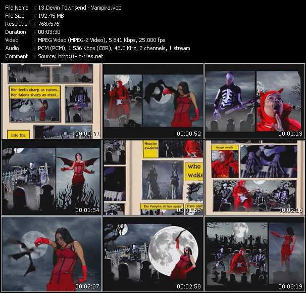 Devin Townsend video screenshot