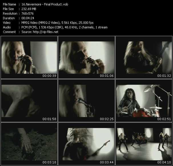 Nevermore video screenshot