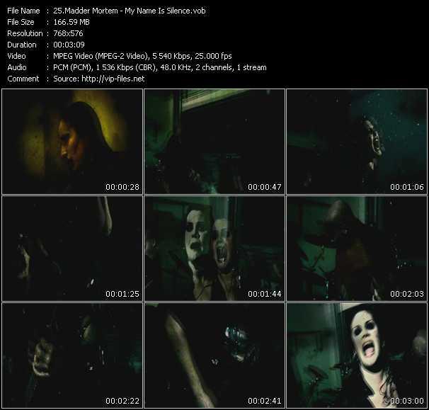 Madder Mortem video screenshot