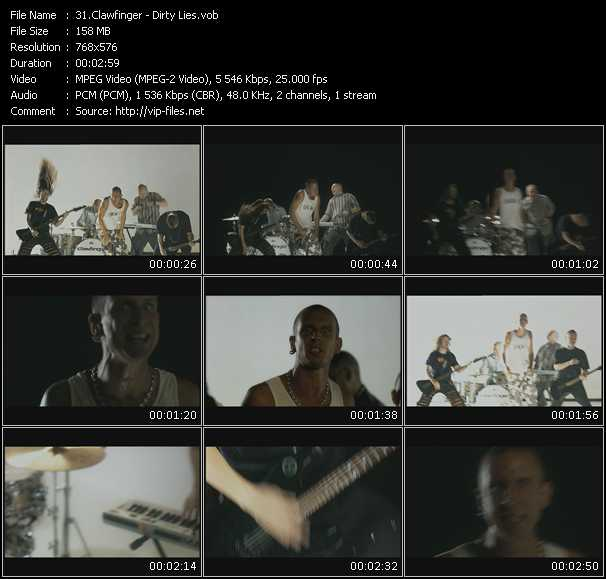 Clawfinger video screenshot