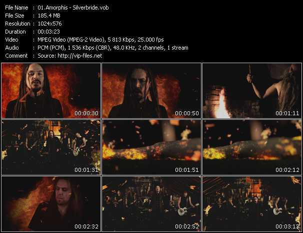 Amorphis video screenshot