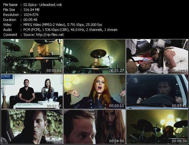Epica video screenshot