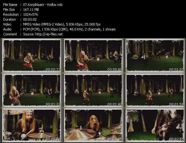 Korpiklaani video screenshot