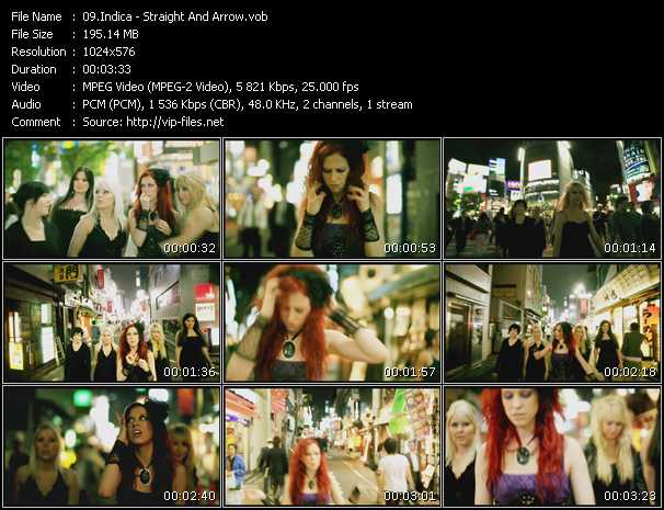 Indica video screenshot