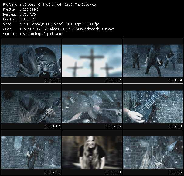 Legion Of The Damned video screenshot