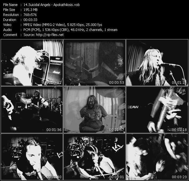 Suicidal Angels video screenshot