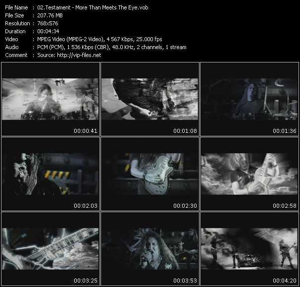 Testament video screenshot