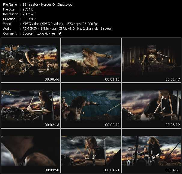 Kreator video screenshot