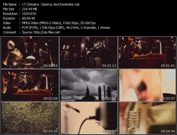 Chimaira video screenshot