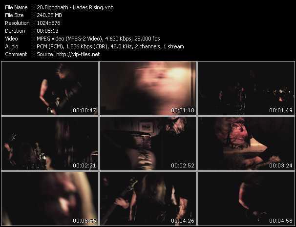Bloodbath video screenshot