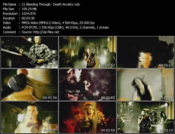 Bleeding Through video screenshot