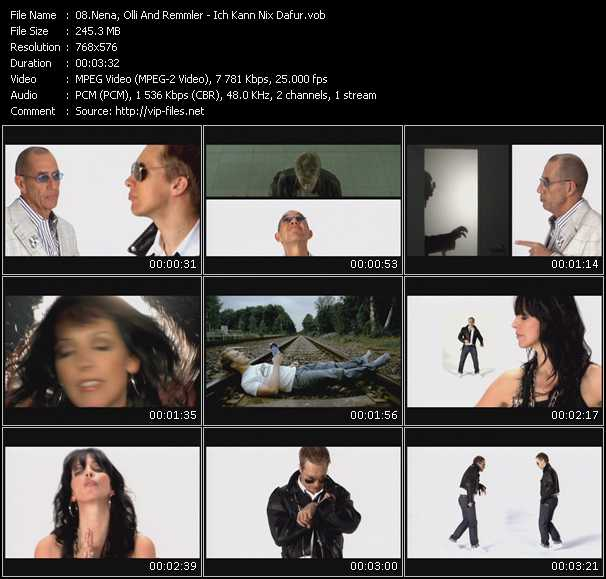 Nena, Olli And Remmler video screenshot