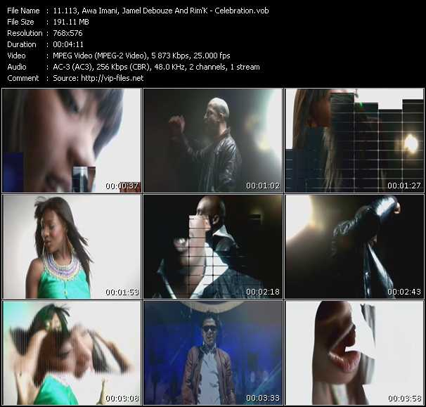 113, Awa Imani, Jamel Debouze And Rim'K video screenshot