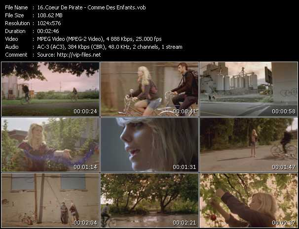 Coeur De Pirate video screenshot
