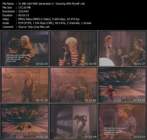 Billy Idol With Generation X video screenshot