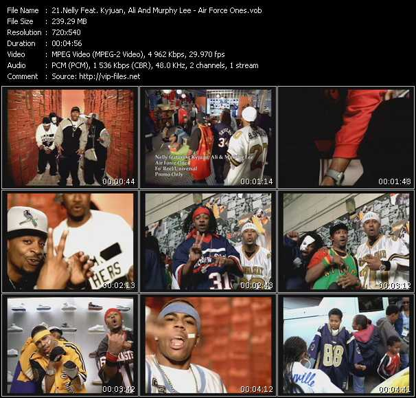 Nelly Feat. Kyjuan, Ali And Murphy Lee video screenshot