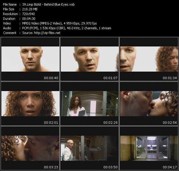 Limp Bizkit video screenshot