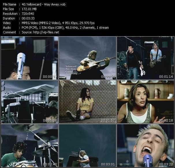 Yellowcard video screenshot