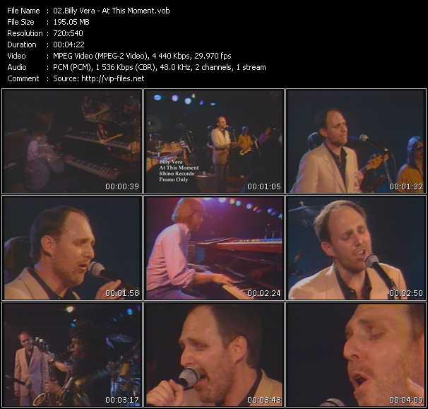 Billy Vera video screenshot