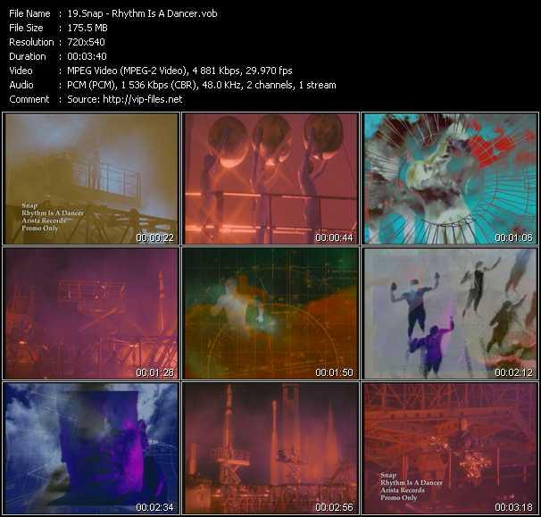 video Rhythm Is A Dancer screen