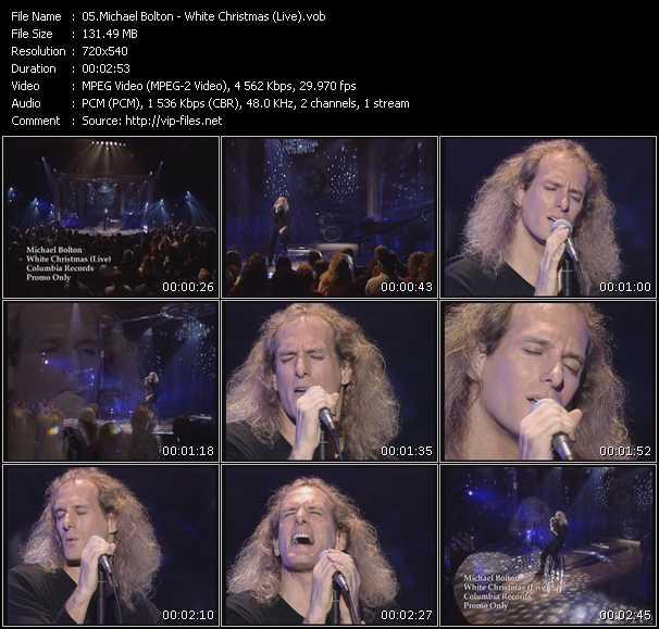 video White Christmas (Live) screen