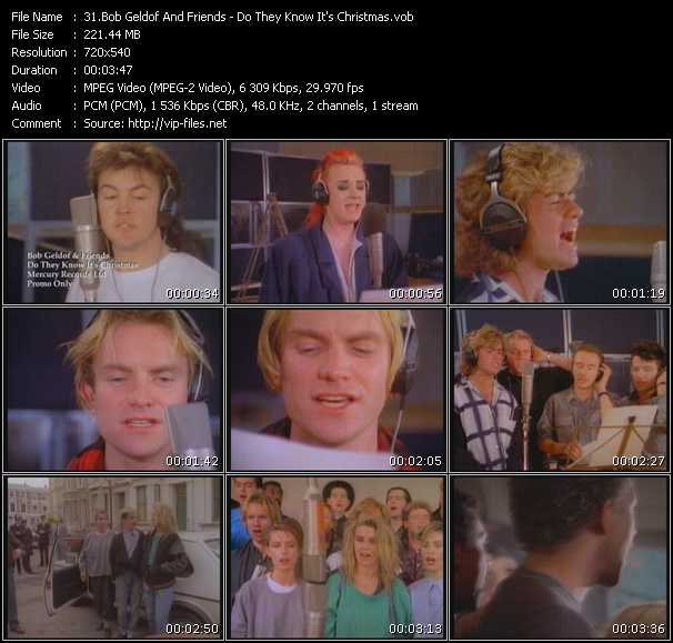 Bob Geldof And Friends video screenshot