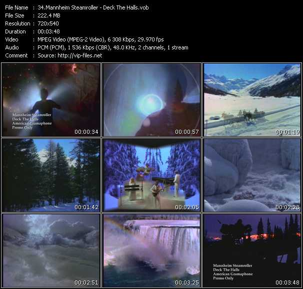 Mannheim Steamroller video screenshot