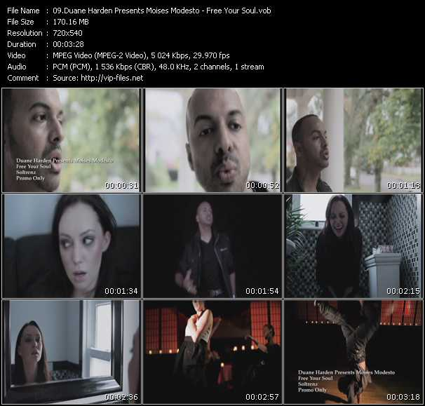 Duane Harden Presents Moises Modesto video screenshot
