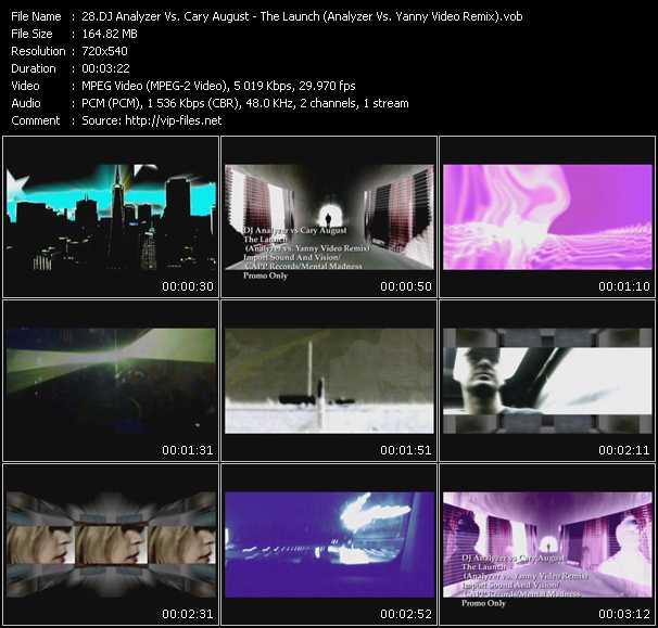 Dj Analyzer Vs. Cary August video screenshot