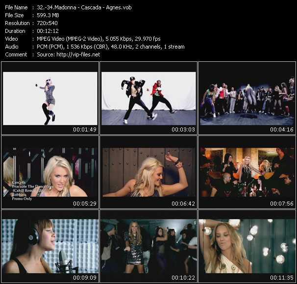 video Celebration - Evacuate The Dancefloor (Cahill Remix Edit) - Release Me screen