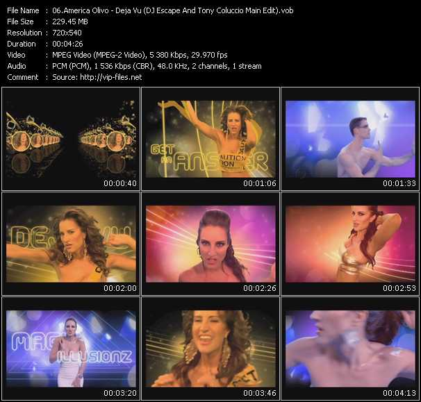 America Olivo video screenshot