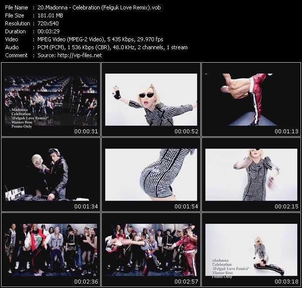 Madonna video screenshot