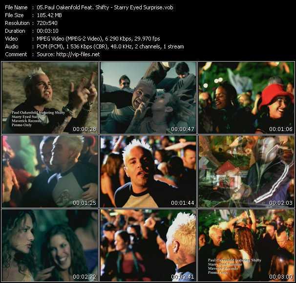 Paul Oakenfold Feat. Shifty video screenshot