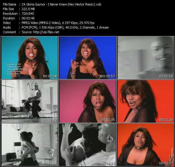 Gloria Gaynor video screenshot