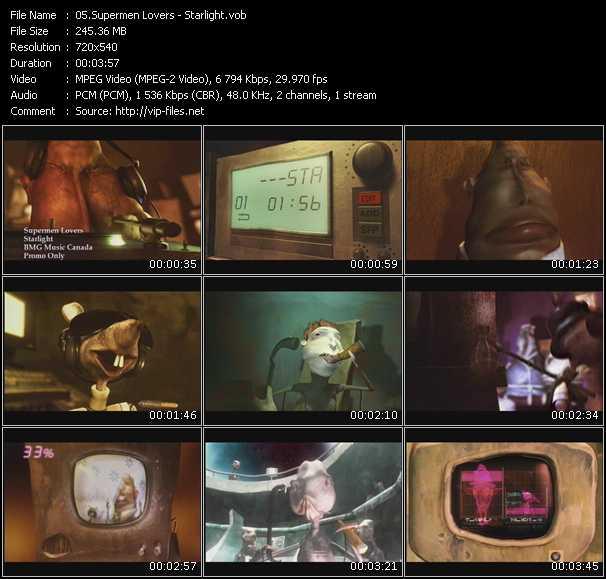 video Starlight screen