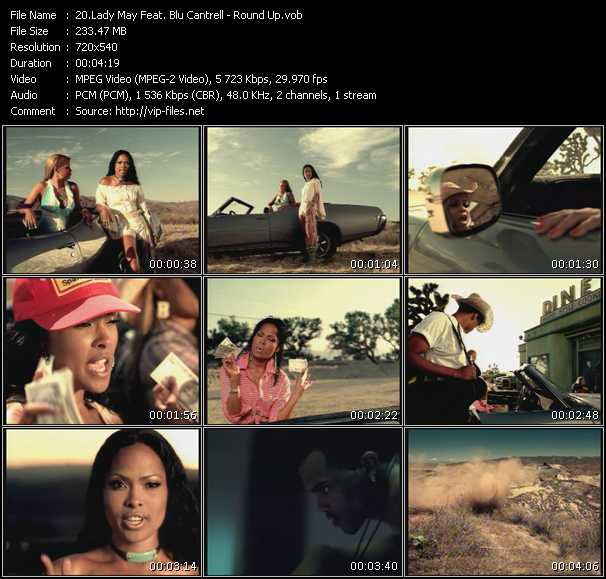 Lady May Feat. Blu Cantrell video screenshot