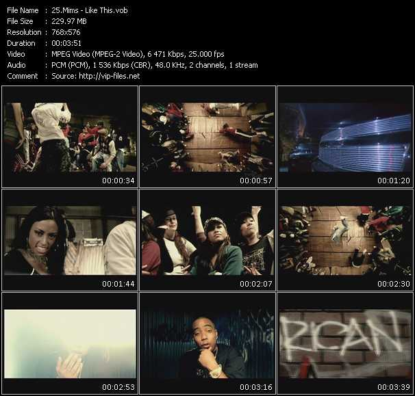 Mims video screenshot