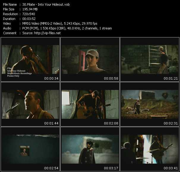 Pilate video screenshot