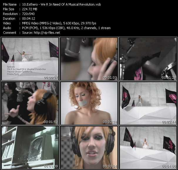 Esthero video screenshot