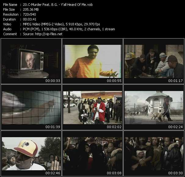 C-Murder Feat. B.G. video screenshot