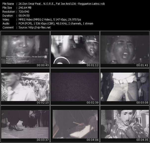 Don Omar Feat. N.O.R.E., Fat Joe And LDA video screenshot