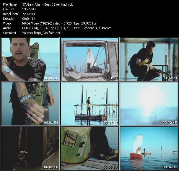 Gary Allan video screenshot