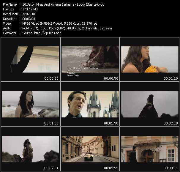 Jason Mraz And Ximena Sarinana video screenshot