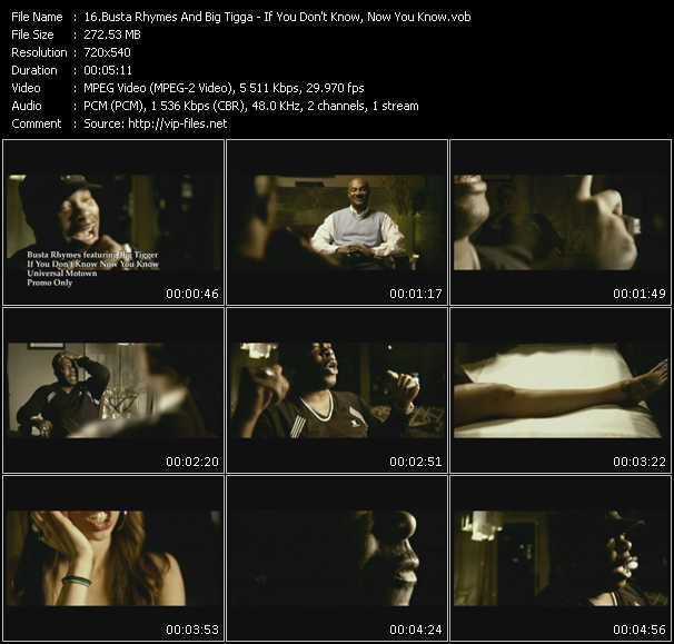 Busta Rhymes Feat. Big Tigger video screenshot