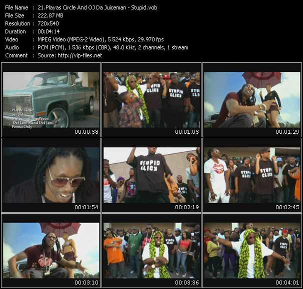 Playaz Circle And Oj Da Juiceman video screenshot