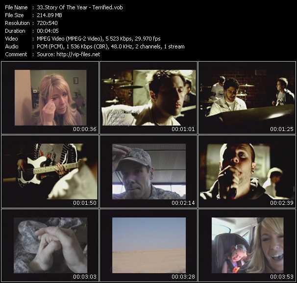Story Of The Year video screenshot