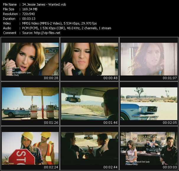 Jessie James video screenshot