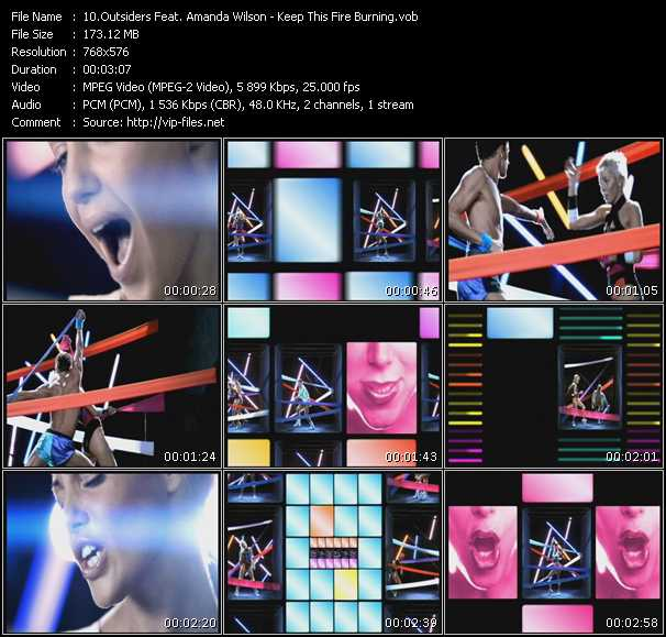 Outsiders Feat. Amanda Wilson video screenshot