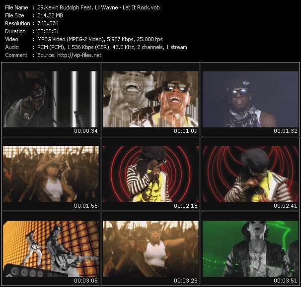 Kevin Rudolf Feat. Lil' Wayne video screenshot